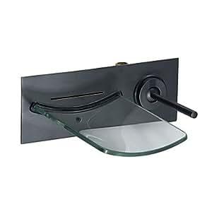 l eingerieben bronze wasserfall waschbecken wasserhahn. Black Bedroom Furniture Sets. Home Design Ideas