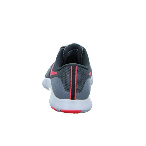 Nike Zapatillas De Running Wmns Flex Noir / Hyper Rose Anthracite Wh, Scarpe Da Fitness Unisexe - Adultes Grigio (grigio)