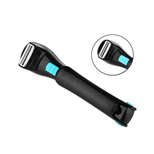 TWL LTD-Wheelchairs Elektrischer Rückseitiger Haar-Rasierer-Langer Griff-Faltbare Elektrische Epilierer-Haar-Abbau-Werkzeuge für Mann und Frau -