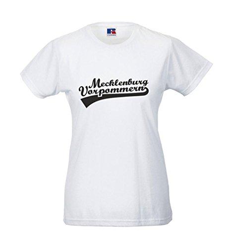 Girlie-Shirt - Mecklemburg-Vorpommern Weiß