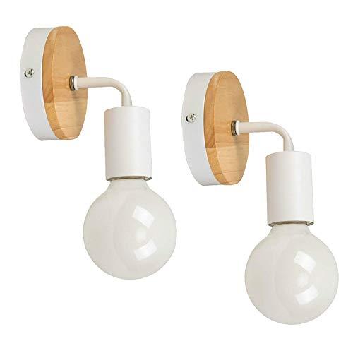 2pcs STOEX Apliques Moderno Nórdico Diseño forma 7 Lámpara de Pared