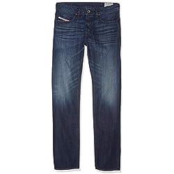 Diesel Buster 0849B Jeans pour Hommes (Bleu, W40/L32)