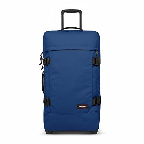 Eastpak TRANVERZ M Equipaje de mano, 67 cm, 80 liters, Azul (Bonded Blue)