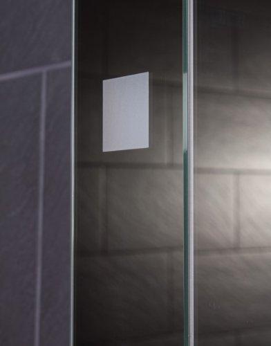 Galdem CUBE60 Spiegelschrank – holz, 60 x 65 x 15 cm, weiß - 3