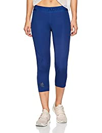Bekleidung Hosen & Leggings adidas Performance Damen Fitness 3/4 Pant D2M HR 34 3 STRIPES schwarz