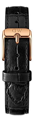 Daniel Wellington Unisex Erwachsene Leder Uhrenarmband DW00200143