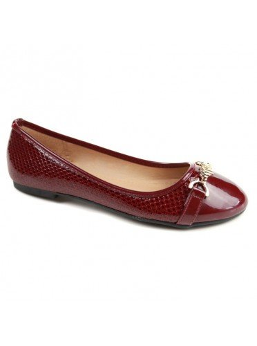 no-name-damen-ballerinas-rot-bordeaux-grosse-39