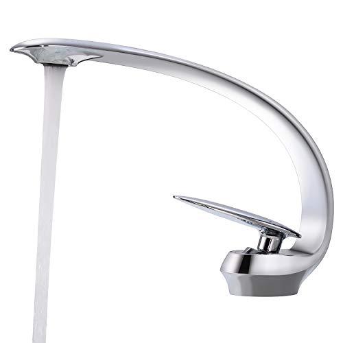 BONADE Waschtischarmatur Wasserhahn Einhebelmischer Waschbecken Armatur Chrom