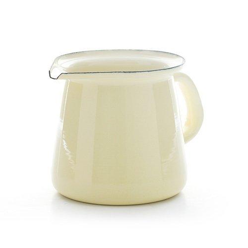Vintage Home–pequeña calidad esmaltada leche/jarra para leche–SUERO DE LECHE/Cream- 400ml