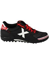Munich - Zapatillas de fútbol sala, mod. Gresca Genius Turf, en color negro, ref. 3010581 Size: 43