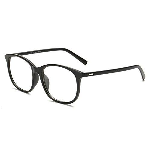 Juleya Brillen für Männer Frauen - Klare Linse Brillengestell + Brillen Fall 1228YJJ04