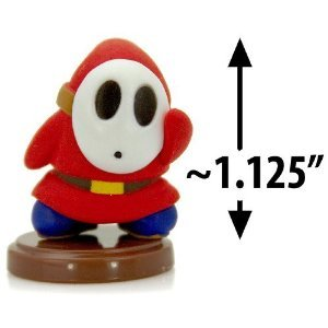 Furuta SUPER MARIO WII MINI FIGUREN SHYGUY SHY GUY (3CM Mini Figure)