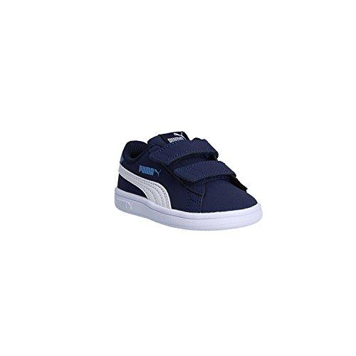 Puma Turnschuh V2 365.184-02 ZERTRÃœMMERN Buck 24 Blue (Buck Jungen Schuhe)