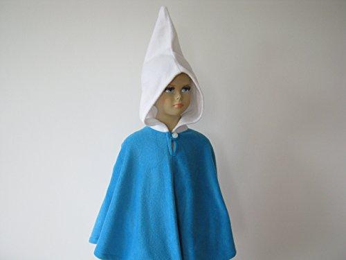 lloween kostüm cape für kleinkinder zwerg blau (Zwerg Halloween-kostüm)