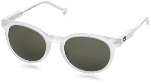 Tommy Hilfiger Unisex-Erwachsene Sonnenbrille TH 1426/S QT, Schwarz (Crystal), 48 Preisvergleich