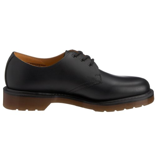 Dr Martens 1461 Pw Smooth, Chaussures de ville mixte adulte Noir (Black)
