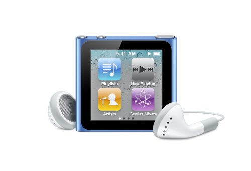 Apple iPod nano 16 GB Blue (6th Generation) OLD MODEL  available at amazon for Rs.40934