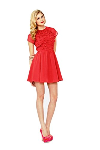 ted-baker-penny-red-floral-embellished-dress-size-tb-4-uk-14-eu-40-medium-bnwt