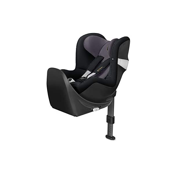 CYBEX Gold Sirona M2 i-Size Car Seat, Incl. Base M, From Birth to approx. 4 years, Up to Max. 105 cm Height, Premium Black  Cybex gold car seat sirona m2 i-size incl. base m Colour: premium black Item number: 519000959 1