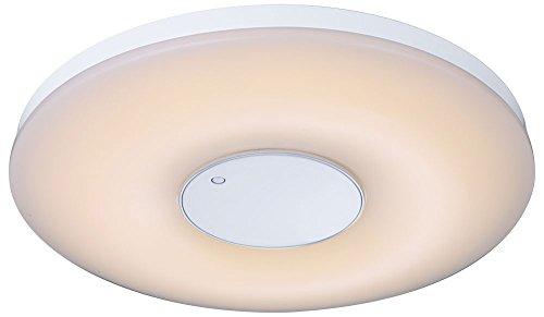 LED 35 Watt Deckenleuchte Deckenlampe Lampe Metall rund weiß dimmbar Fernbedienung Farbwechsler Globo 41322