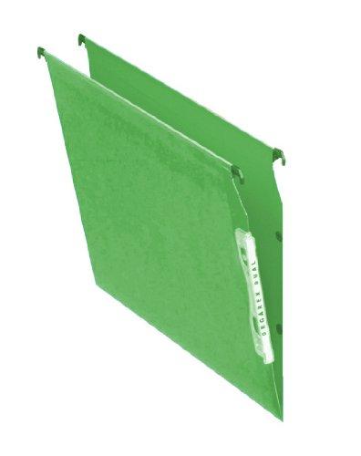 Esselte Hängemappen, 15mm, Schienenbreite 330mm grün
