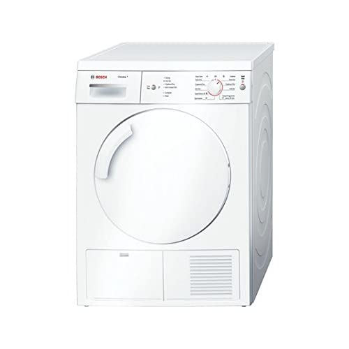 31srk2xlLtL. SS500  - Bosch Classixx WTA74100GB Free-Standing Tumble Dryer, Front Load, 6 kg Capacity, Energy Efficiency Class C, White (Free-Standing, Front Load, Drainage, White, Buttons, Control Dial, Right-Hand Hinge)