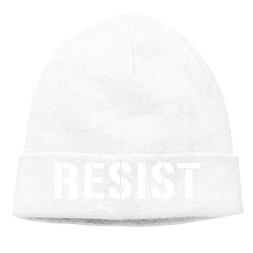 51a08a02afa ERCGY Hip-Hop Knitted Hat for Mens Womens Resist Anti Trump Unisex Cuffed  Plain Skull