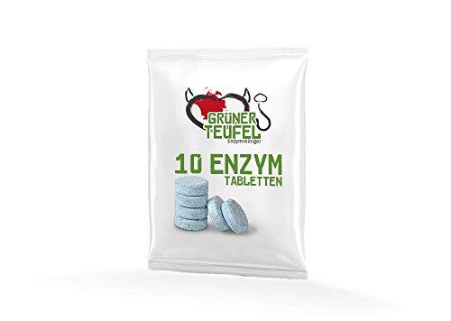 Grüner Teufel - Enzymreiniger (10 Tabletten) - Nachfüllpackung