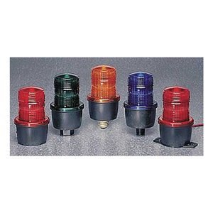 Strobe Light, Green, Surface, 3-1/8 Dia by Federal Signal -