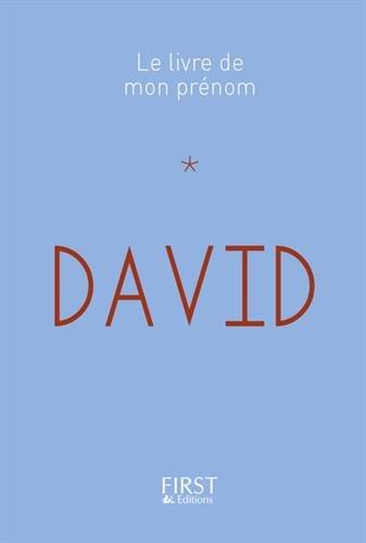 Le Livre de mon prénom - David