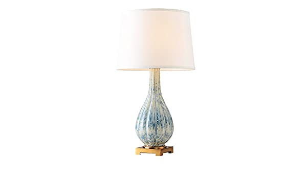 Mlpboov neue moderne chinesische keramik tischleuchte licht luxus