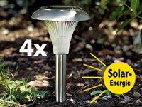 """Lunartec Solar-Gartenleuchte """"Mini"""" 4er-Set von Lunartec auf Lampenhans.de"""
