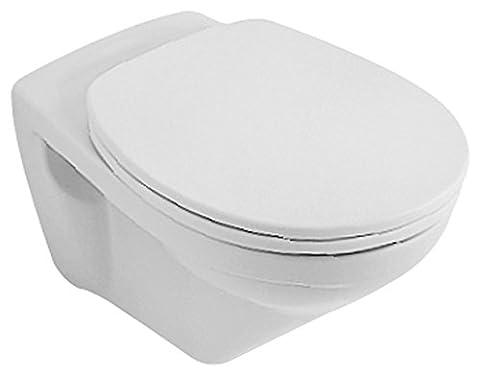 Villeroy & Boch Wand WC (ohne Deckel) Tiefspüler OMNIAclassic 36x55cm weiß alpin mit Ceramikplusbeschichtungi,