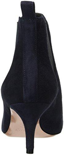 Oxitaly Sara 31, Bottes Classiques femme Bleu - Bleu marine