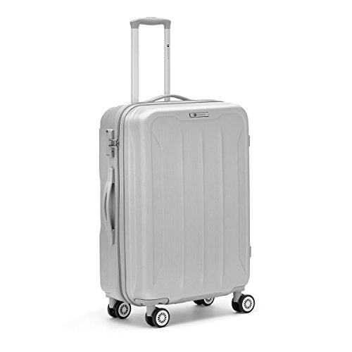R Roncato Flight 4R Trolley 76 cm, Argento