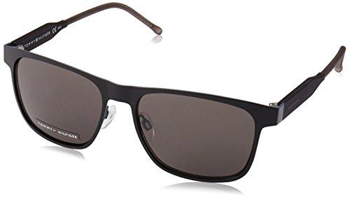 Tommy Hilfiger Herren TH 1394/S NR R12 56 Sonnenbrille, Grau (Mttblck Brown Grey)
