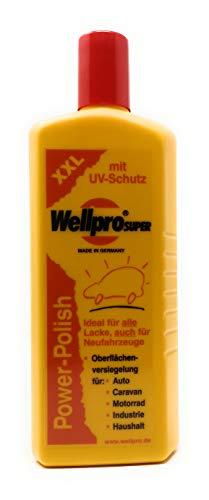 500ml Wellpro Power Polish XXL für alle neuen und neuwertigen Lacke