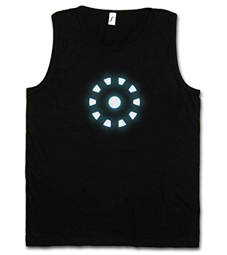 ARC Reactor I Herren Männer Tank Top Training Shirt - Iron Avengers Tony Stark Man Mark Invincible Industries Sizes S – 5XL