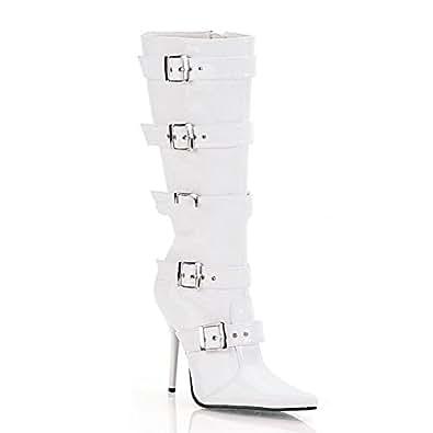 Pleaser Milan-2015 - sexy bottes talon hauts chaussures femmes 35-45, Size:EU-45 / US-14 / UK-11