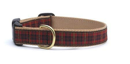 Up Country NRP-C-XL New Red Plaid Hundehalsband, Breit 1