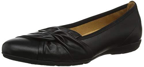 Gabor Shoes Damen Casual Geschlossene Ballerinas, Schwarz (Schwarz 27), 41 EU
