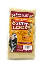 Suet To Go Insect Suet Logs 6pk from Unipet International Limited