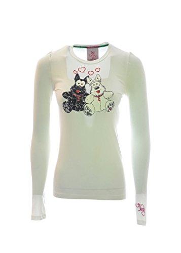 TIRDY T-shirt donna con disegno grafico sul fronte (M)