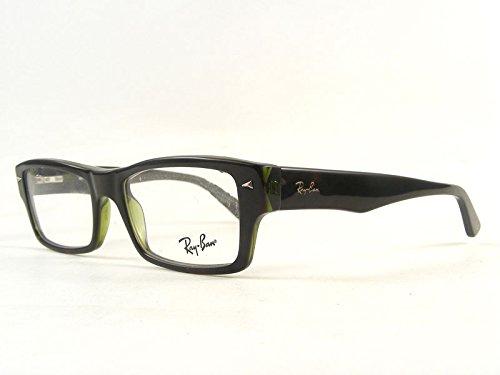 Ray Ban Optical Für Mann Rx5254 Tortoise On Green Transparent Kunststoffgestell Brillen, 54mm