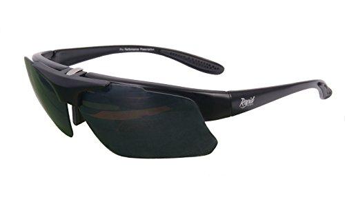 Rapid Eyewear Pro Performance Rx SONNENBRILLE RAHMEN FÜR SEHSTÄRKE KORREKTIONSGLÄSER. Für Damen und Herren. Rx Optikadapter enthalten. Für Fahren und Sport