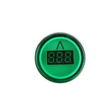 CCChaRLes Ad16-22Dsv 22Mm Mini Digitalanzeige Amperemeter 60-500V Universal Anzeigelampe Blende Für Teststrom - Grün