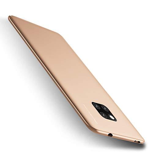 X-level Huawei Mate 20 Pro Hülle, [Kinght Serie] Hart Handlich Premium PC Material Gutes Gefühl Handyhülle Schutzhülle für Huawei Mate 20 Pro Case Cover - Gold Key-mate Light