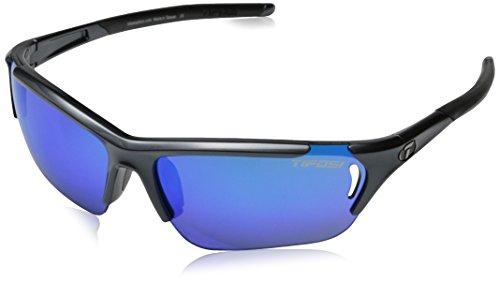 Tifosi Sonnenbrillen Radius Fc Gloss Gunmetal-Clarion Blau (Default , Silber) (Tifosi Radius Sonnenbrille)