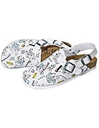 Y esCorcho Blanco Complementos Hebilla ZapatosZapatos Amazon uTXZOPki