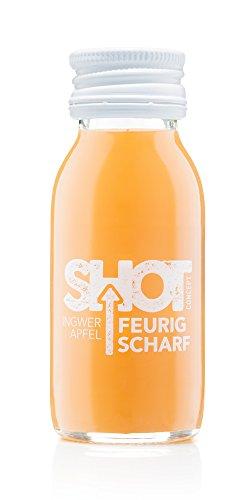 Preisvergleich Produktbild Shot Concept - Ingwershot - Feurig Scharf, 6x60ml Glasflasche